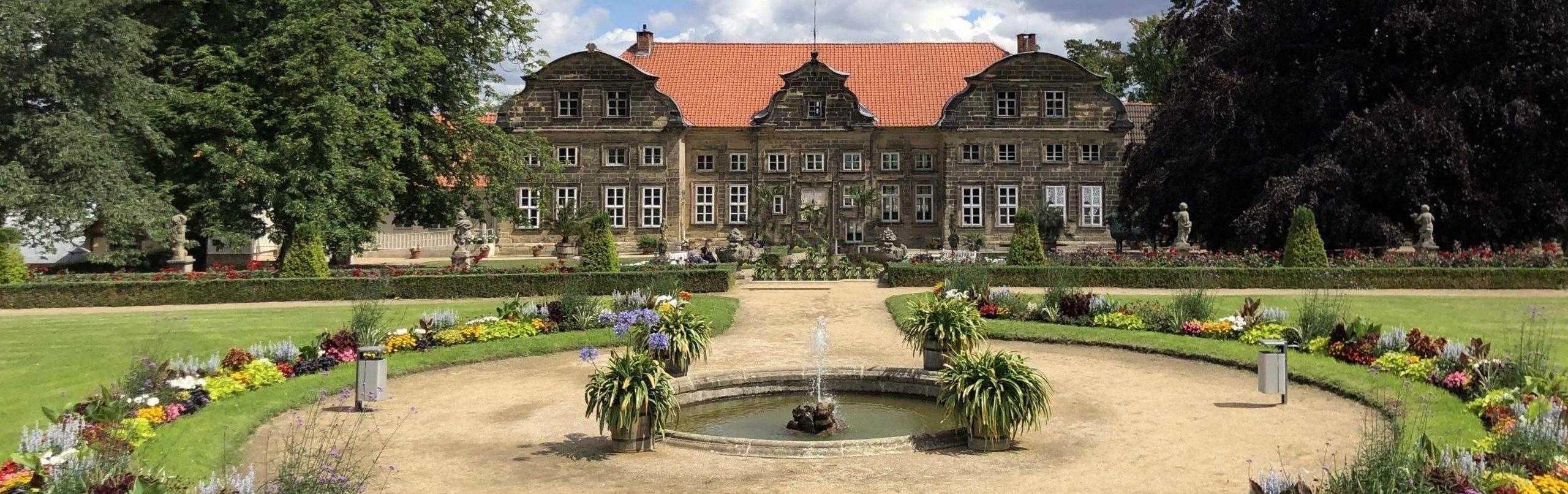 kleines schloss und barockgarten blankenburg